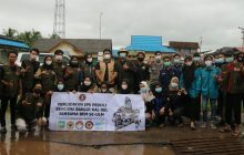 ULM Bantu Korban Banjir Kurau