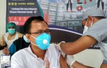 Vaksinasi Covid-19 ke Nakes Tala Ditargetkan Selesai 10 Hari