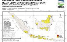 BMKG Ingatkan 20 Provinsi Waspada Banjir, 5 di Kalimantan