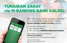 Lebih Mudah Bantu Korban Banjir Melalui UPZ Bank Kalsel