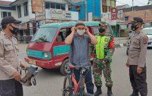 TNI-Polri Barabai Genjot Pendisiplinan Prokes