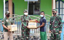 Korem Antasari Bantu Al-Qur'an dan Sajadah ke Desa BaruWaki