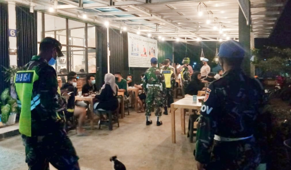 Cafe di Barabai Jadi Sasaran Operasi Yustisi