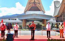 Presiden Resmikan Bandara Toraja dan Pantar