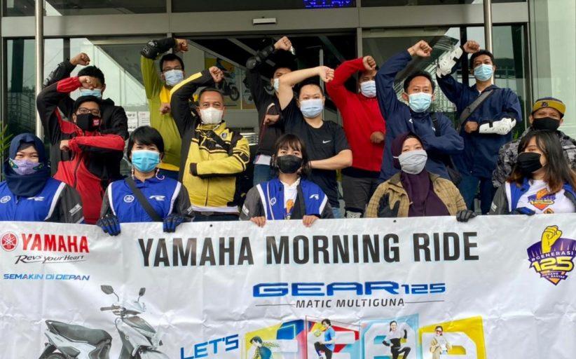 Yamaha Ajak Mediadan Komunitas 'GEAR 125 Challenge'