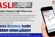 Cari Informasi Suku Cadang Asli, Yamaha Luncurkan Aplikasi Inovatif