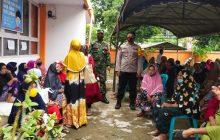 Pagat Sosialisasikan Prokes Dipenyaluran BST