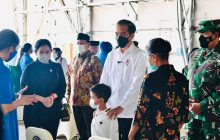 Presiden Silaturahmi dengan Keluarga Awak KRI Nanggala 402