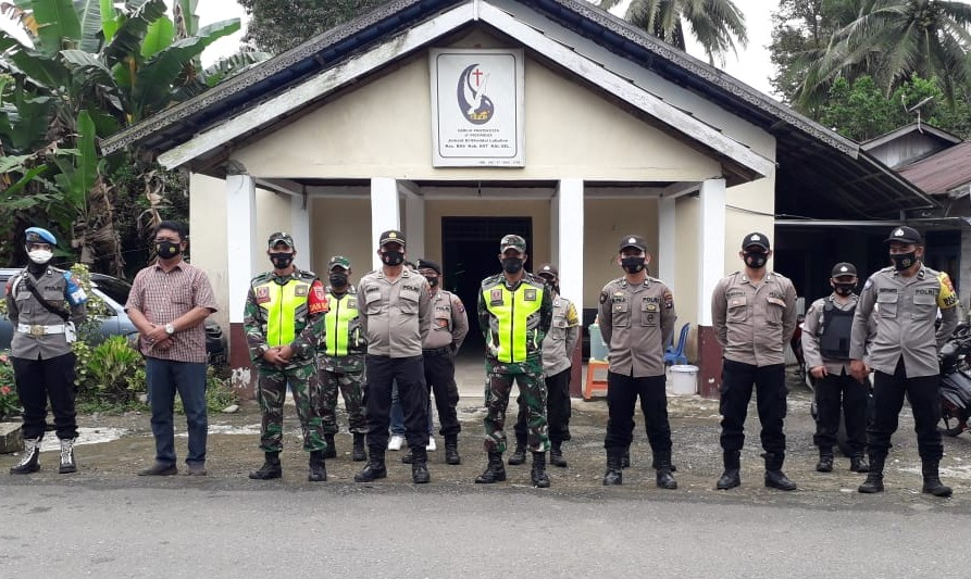 Jumat Agung BAS Diamankan TNI-Polri HST
