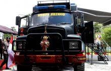 Polda Kalteng Launching Kendaraan Opsnal Brimob