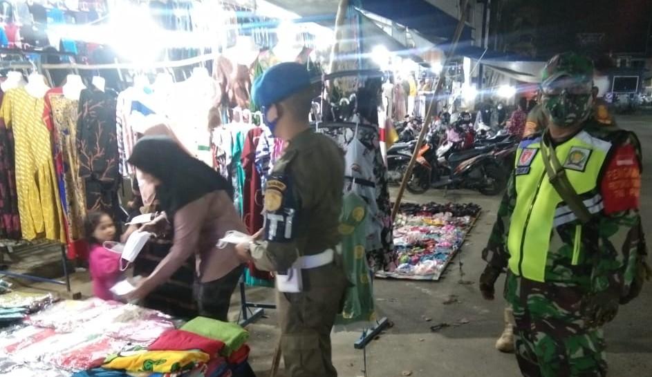 Operasi Prokes HST Sasar Pasar Murakata