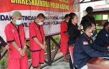 Dalam Sepekan, Polda Kalteng Ungkap 3 Kasus Narkoba