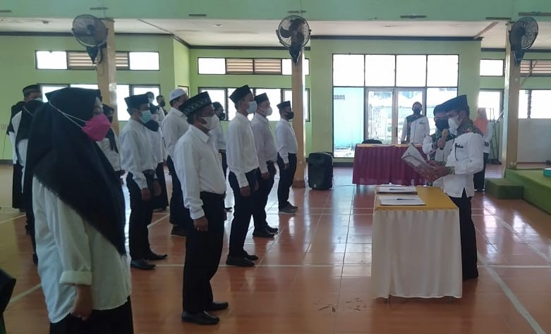 KPU Banjar Lantik PPK untuk PSU 9 Juni