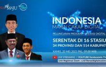 Jokowi Resmikan Literasi Digital Nasional