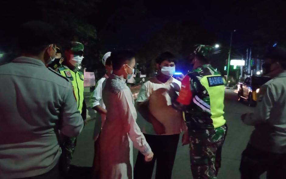 Pilar HST Operasi Prokes Malam Hari