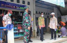 Bupati HST Sidak Pasar dan Gudang Sembako