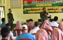 Mabes TNI AD Survei Pelayanan di Kodim HST
