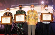 TNI AU Lanud SN Terima Penghargaan DJKN Kalselteng