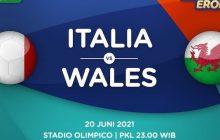 Italia - Wales Berburu Status Puncak