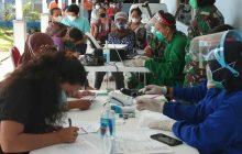 TNI AU Sjamsudin Noor Gelar Serbuan Vaksin untuk Umum