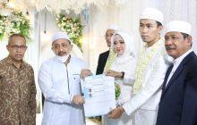 Nikah di Kabupaten Banjar Dapat Enam Dokumen