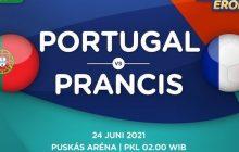 Portugal vs Prancis, Kawan Jadi Lawan