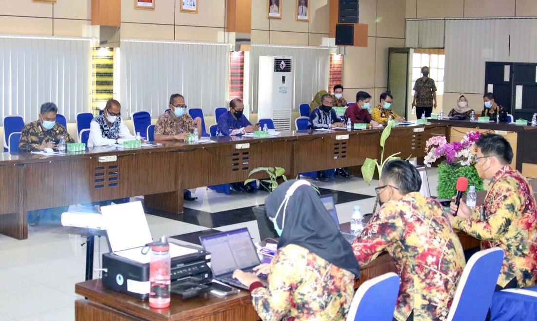 Rakor RDTRBanjar Bahas Jalur KA Banjarmasin-Tanjung
