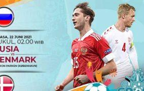 Rusia vs Denmark Jalani Laga Krusial