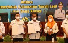 Terbitkan KKP, Bank KalselPermudah Warga Tala Peroleh Gas LPG