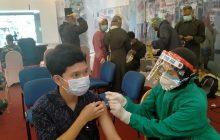 Lanud Sjamsudin Noor Serbu Duta Mall dengan Vaksin