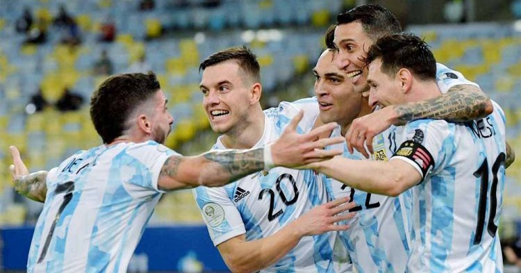Redam Brasil, Argentina Juara Copa America 2021