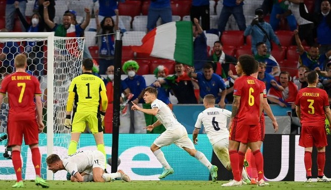 Italia Susul Spanyol ke Semifinal Euro