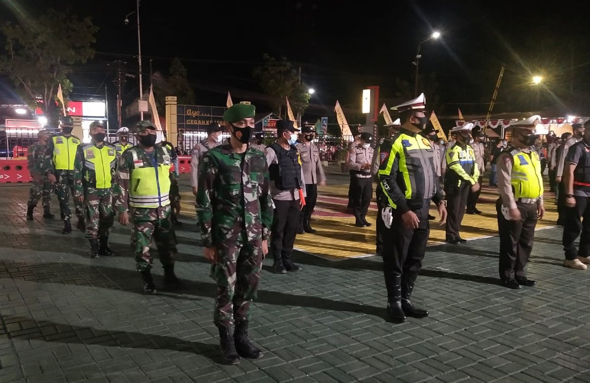 HST Patroli Penertiban Malam Idul Adha