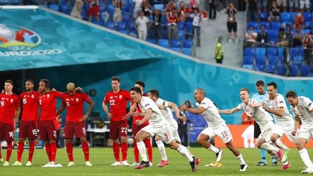 Spanyol Sisihkan Swiss Melalui Adu Penalti
