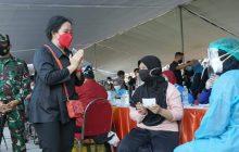 Puan Apresiasi Pemko Surabaya Bangun RS Daruratuntuk Pasien Covid