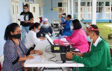 TNI AU Lanud Sjamsudin Noor Kembali Gelar Serbuan Vaksin