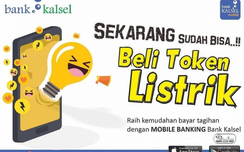 Bank Kalsel Sediakan Layanan Token Listrik