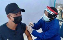 TNI-AU Lanjutkan Serbuan Vaksin di Rumkit Lanud Sjamsudin Noor