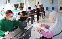 Se-Hari se-Juta Vaksinasi Dilanjutkan Rumkit Lanud Sjamsudin Noor