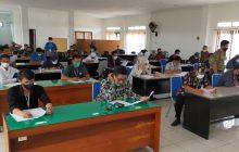 55 Peserta Perangkat 7 Desa MHS Lulus Ujian Tertulis