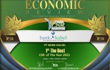 Majalah Economic Anugerahi Bank Kalsel CSR Award 2021