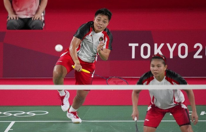 Greysia/Apriyani Raih Emas Bulutangkis Olimpiade Tokyo 2020