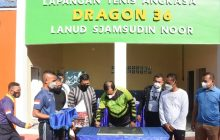 Kapolda Resmikan Lapangan TenisLanud 'Dragon 36'