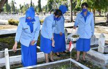 Sambut HUT ke-75, Jalasenatri Lanal Banjarmasin Ziarah