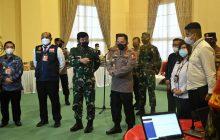 Panglima TNI dan Kapolri Cek Penanganan Covid-19di Kalsel