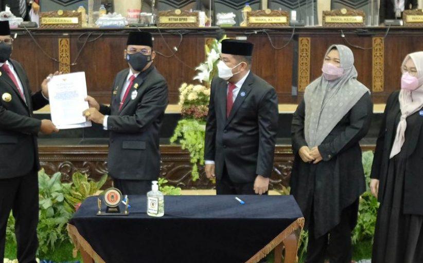 Putusan KPU BirinMu Terpilih Disahkan DPRD Kalsel