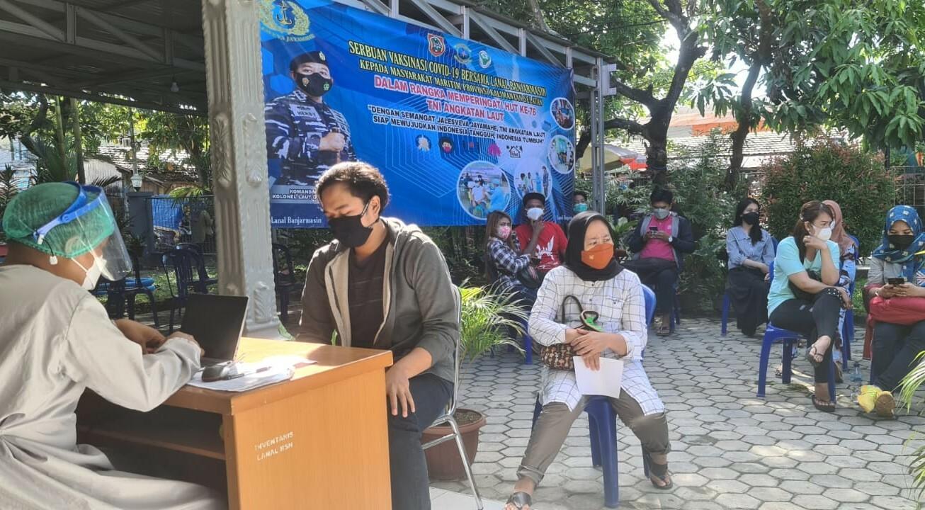 Servak TNI AL Sudah Vaksin 12.685 Orang
