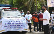 Banjar Kirim Bantuan Logistik untuk Korban Banjir Katingan