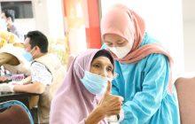 Vaksinasi Massal OJK-Bank KalselSasar Barabai