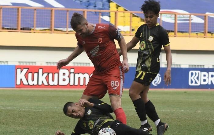 Barito Redam PSM Makassar 2-0